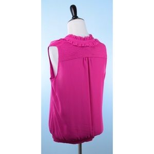 White House Black Market Tops - WHBM pink top